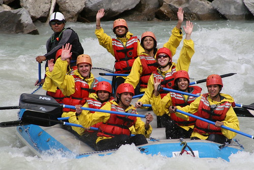 White Water Rafting is FUN!