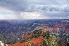 Mount Hayden & storm - Grand Canyon North Rim (Al_HikesAZ) Tags: park county camping arizona usa storm rock clouds nationalpark hiking grandcanyon grand az canyon hike formation trail national backpacking monsoon backcountry thunderstorm senderismo northrim mochila coconino eeuu  grandcanyonnationalpark chubasco descubrimiento coconinocounty pointimperial gcnp  azwmonsoon azwexplore alhikesaz mounthayden   kenpatrick gcnr2009