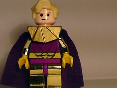 Ozymandias New hair/cape (burakki62) Tags: dc comic lego hero superhero heroes minifig custom marvel minutemen watchmen ozymandias legowatchmen