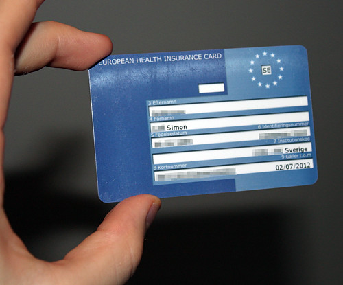 EU-kort (European Helth Insurance Card)