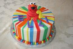 Elmo Cake (irresistibledesserts) Tags: birthday baby shower elmo sesamestreet