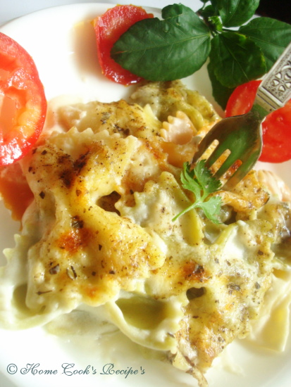 Baked Pasta with Cheese