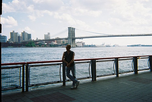 'NYCDreamin' near Brooklyn Bridge
