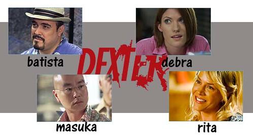 Dexter Personagens