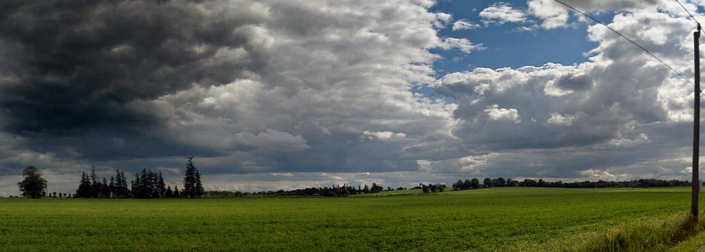 field panorama, Ontario