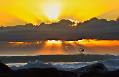 Sunrise Surfing_09092009 (7) (Michael Dawes) Tags: ocean camera friends red people beach yellow sunrise pacific country australia surfing clean queensland towns mikemanning 61 goldcoast phototype burleighheads topshots longexposurephotography ef100400mmf4556lisusm canon50d mytopshots