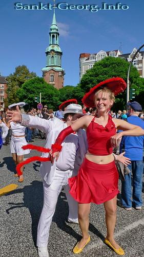 Parade: Festival der Kulturen in Hamburg St. Georg