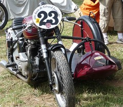 Chimay 2008 BSA (barbeenzinc) Tags: old bike outfit competition racing course motorbike basset moto motorcycle circuit sidecar chimay bsa motorrad classique anciennes seitenwagen chimay2008
