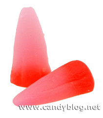 Scary Cherry Gummi Candy Corn