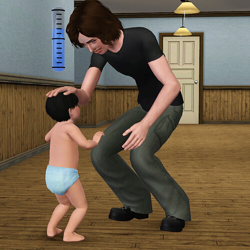 Manson has actually become a wonderful father