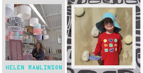 inside the artist's studio: helen rawlinson