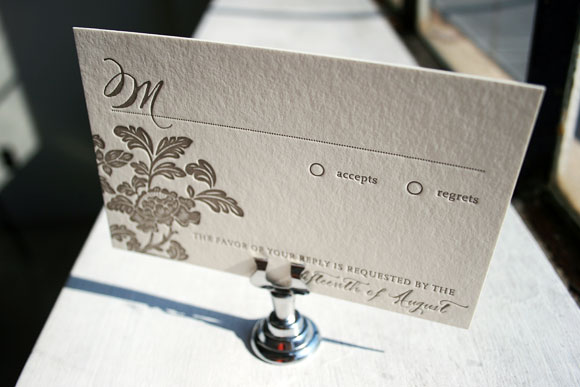 Smock Design Contest - Rhon Letterpress Reply Card