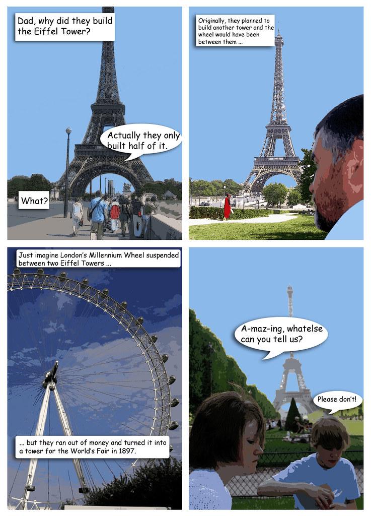 Eiffel Comic
