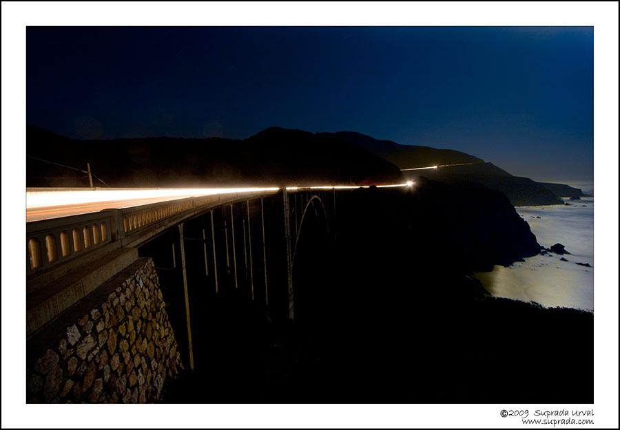 Car Trail - Bixby Bridge