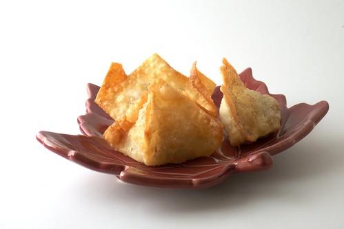 Filled Dessert Wontons