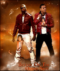 Usher and Chris Brown -  Better On The Other Side (MJ) (TheLean) Tags: chris brown game michael other do king mj side boyz mario pop jackson ii e hip hop usher better 2009 diddy 1959 thriller on the tributo chrisbrown winans