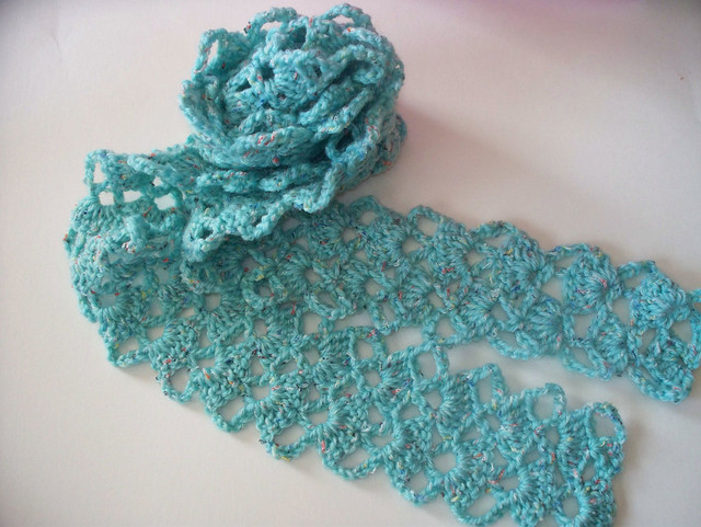 Crochet Pattern Central Scarf : PATTERNS FOR CROCHET SCARVES FREE PATTERNS