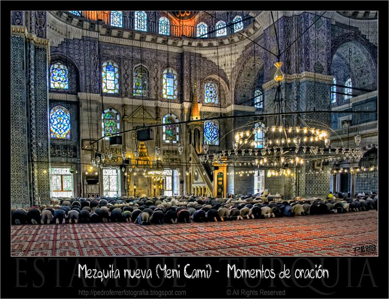 Mezquita nueva - nave principal