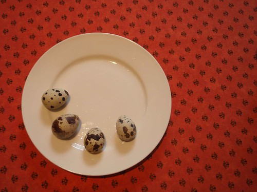 quail eggs for breakfast