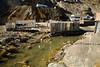 Les prémices du fleuve Ramis, principal affluent du Lac Titicaca. où se dirigent tous les produits toxiques rejettés (La Rinconada, Puno, Pérou, août 2009)