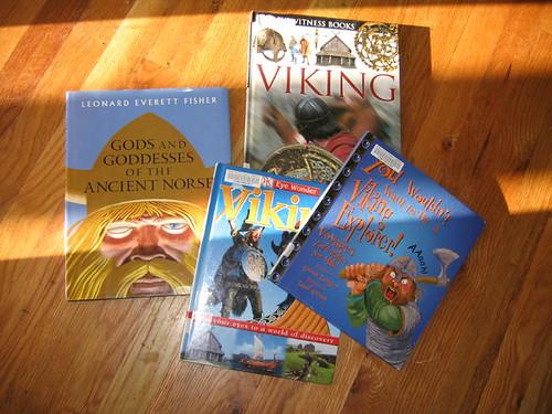 Reading up on vikings