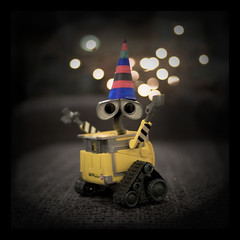 Day 2 Bokeh (beanser ) Tags: bokeh wizard magic disney pixar walle 30daychallenge explored canon35mmf20 canon450d november09 canondigitalrebelxsi beanser day2bokeh wallewizard wallemagic