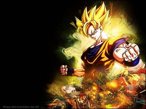 Goku Super Saiyan Level 3. makeup goku super saiyan level