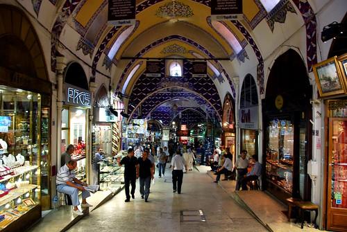 the grand bazaar, istanbul