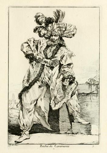006-Bacha de Caramanie-Caravanne du sultan ala Mecque…1748- Joseph Vien