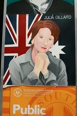 Julia Gillard in Adelaide