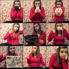 (meaghanmay) Tags: christmas camera winter music snow art collage ipod wizard science toothbrush mitten timhortans