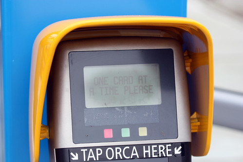 ORCA: One card at a time, please