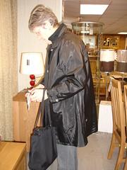 DSC03587 (Silver Linings) Tags: mac rubber raincoat rainwear rubberised