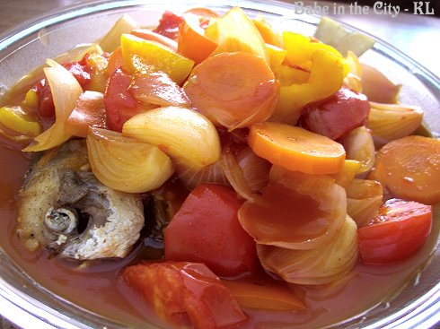 Sweet and Sour Pomfret