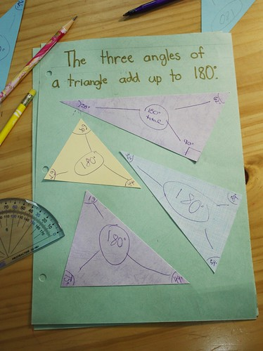 triangles notebooking
