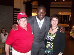 MJ and Louie with Jarvis Green