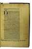 Manuscript initial and ownership inscription in Cicero, Marcus Tullius: De finibus bonorum et malorum