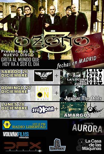 Gira OZONO3 Madrid