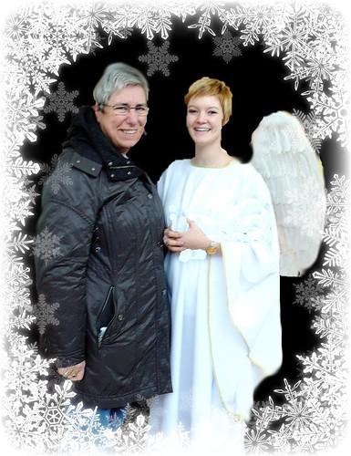 me and angel