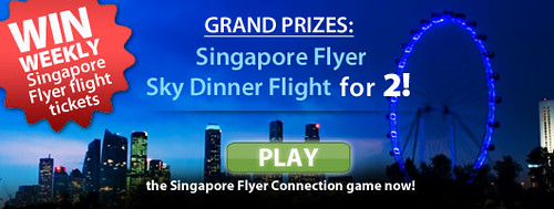Win Weekly Singapore Flyer Tickets - Alvinology