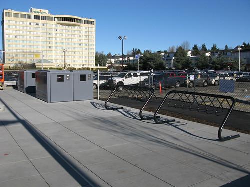 SeaTac/Airport Station Bike Lockers and Racks