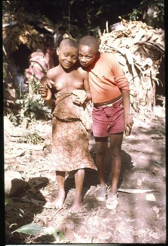 Young Mbuti couple