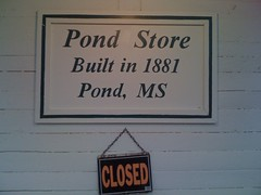Pond Store Sign
