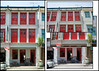 Singapore - Keong Saik Road Merchant's Shophouse (mmmighty_atom) Tags: building architecture singapore architectural merchant verticalstitch architecturalphotography d700