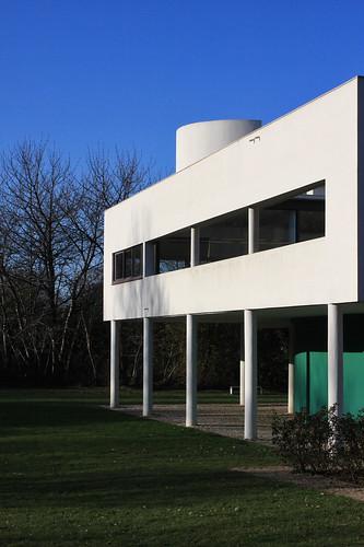 Villa Savoye de Le Corbusier
