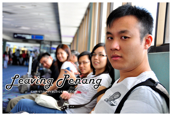 Penang International Airport: Leaving For Hong Kong