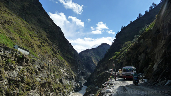Bharmour Rocky Road