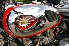 BSA (dprezat) Tags: classic motorcycles collection motorbikes locomotion motos bsa lafertéalais cerny sonyalpha700