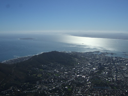 Cape Town View From Atop Table Mountain