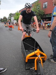 Cirque du Cycling_33 (METROFIETS) Tags: green beer bicycle oregon garden portland construction paint nw box handmade steel weld coat transport craft cargo torch frame pdx custom load cirque woodstove builder haul carfree hpm suppenkuche stumptown paragon stp chrisking shimano custombike cargobike handbuilt beerbike workbike bakfiets cycletruck rosecity crafted 4130 bikeportland 2011 braze longjohn paradiselodge seattlebikeexpo nahbs movebybike kcg phillipross bikefun obca ohbs jamienichols boxbike handmadebike oregonhandmadebikeshow nntma hopworks metrofiets cirqueducycling oregonmanifest matthewcaracoglia palletbike oregonframebuilder seattlebikeshow bikefarmer trailheadcoffee cargbikerace